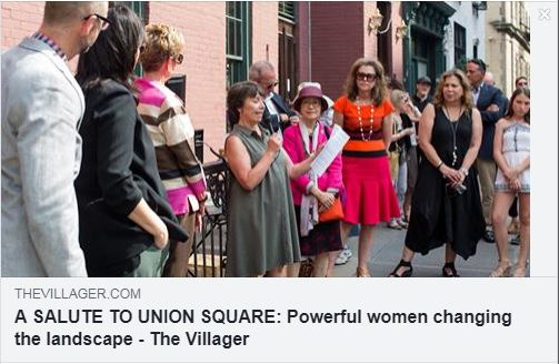 <a href=https://www.thevillager.com/2019/04/a-salute-to-union-square-powerful-women-changing-the-landscape/>The Villager</a>