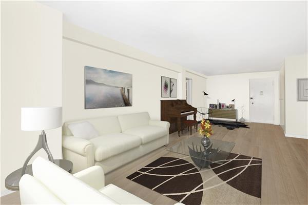 445 e 86th st 15a yorkville new york realdirect for Living room 86th st