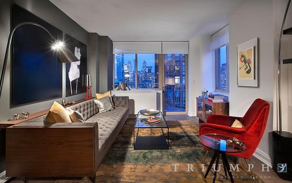 Substantial 3BR/3BA + S/S Kt, D/W, W/D, Concierge, 360 Roof Deck