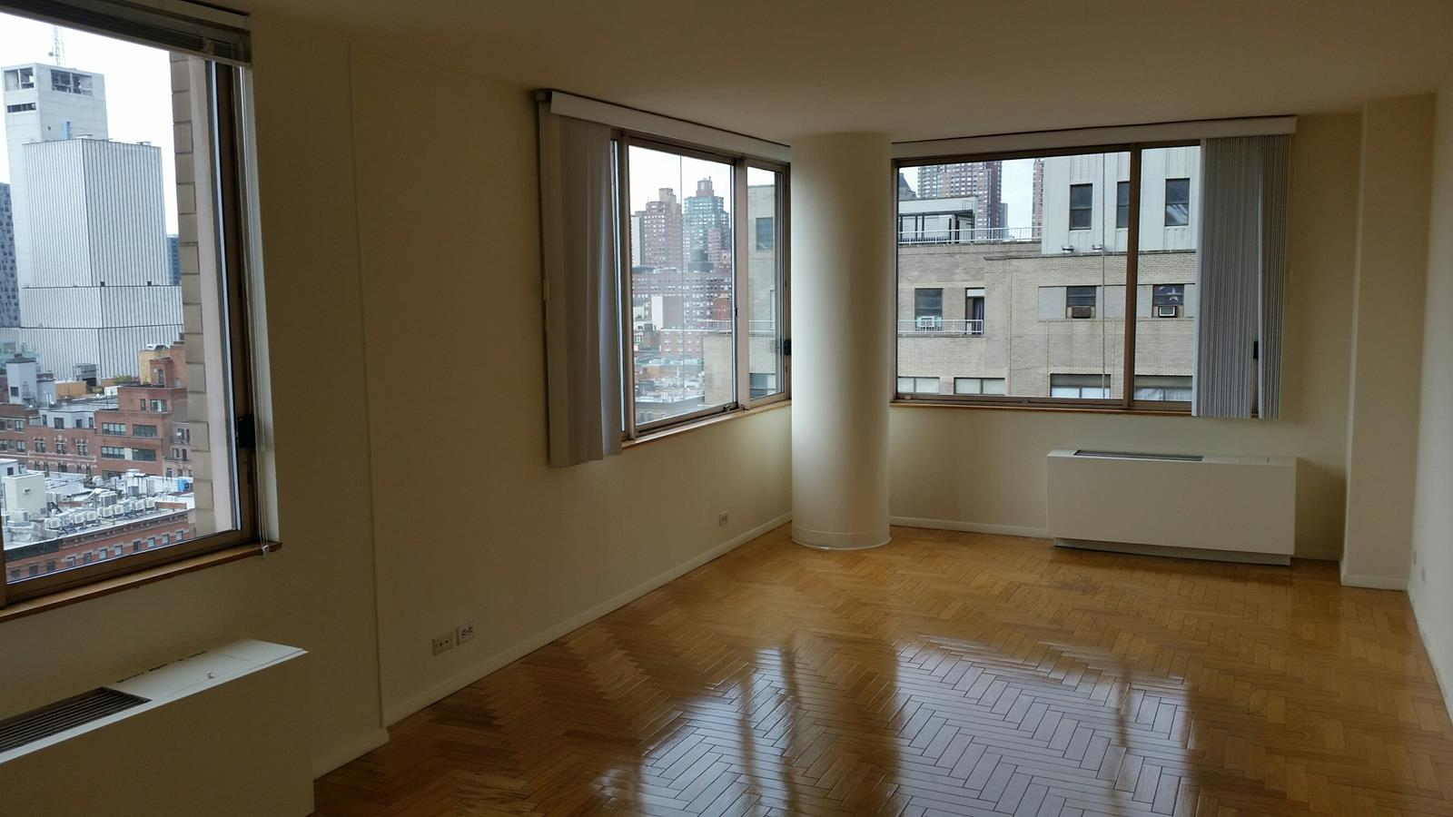 Spacious 2 B/R, 2 Bath fully renovated apartment.  W/D, wood floors, spacious closet space.NW exp.  F/S building with pkg and health club avail.  Near all transp, restauants, theater, shopping, Lincoln Center and Central Park.Avail. immed. SPONSOR UNIT...NO BOARD APPROVAL.