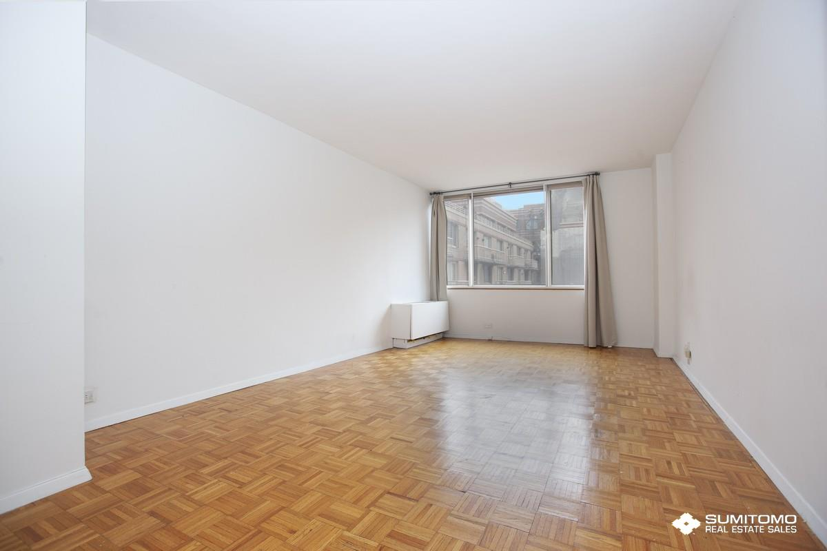 #4II is a large studio (522 sq) facing the Resident Only courtyard with western exposure. It is very quiet and sunny. A lot of closet space. The worldwide Plaza is a full service condominium ideally located in the center of Manhattan theater district and the Midtown financial District. Walk distance to Central Park, Rockfeller Center, Carnegie Hall, MOMA and many, many restaurants. Minutes to the C, E, 1, W, N, R, B, D and F and crosstown buses.