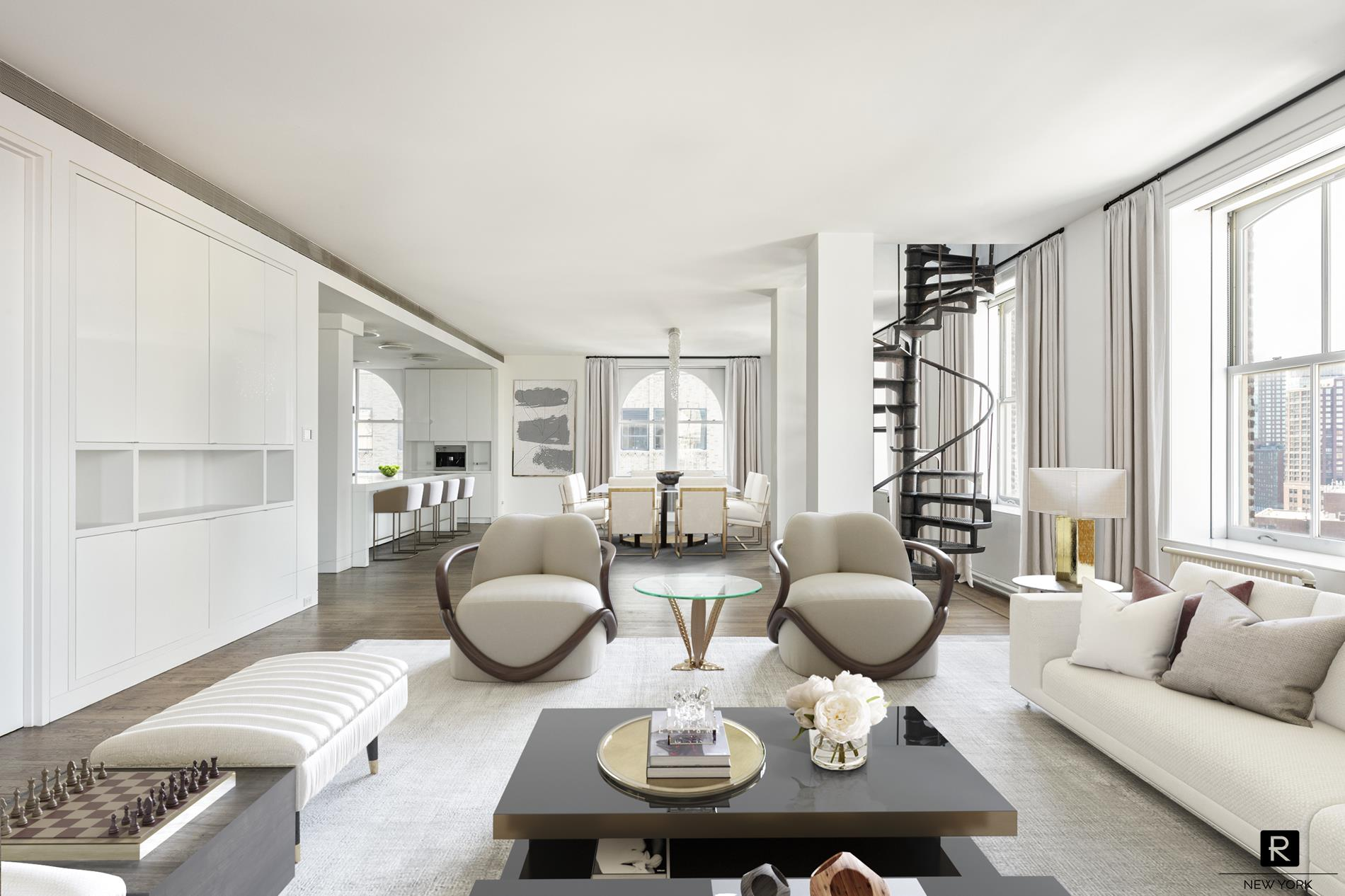 Apartment for sale at 105 Hudson Street, Apt PH-11S
