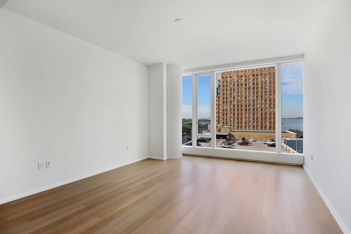 NO FEE!!! FACE TIME and in PERSON tours are available with the listing agent, PLEASE CALL TO ARRANGE!OWNER WILL SIGN the new lease directly with new tenants.This 1BR 1BTH home at 50 West has floor-to-ceiling windows facing South to beautiful water views of New York Harbor and Hudson river. At nearly 1100 sq ft, the spacious home features a Chef's kitchen with walnut cabinetry and granite countertop and backsplash. It is fully equipped with Subzero fridge and freezer, wine cooler, Miele dishwasher, convection oven, speed oven, a range hood that vents directly outside. An attached dinette offers a sleek breakfast nook or additional seating. The open kitchen layout allows you to entertain guests while they enjoy the view.To the right of the entry gallery is a secluded Master suite. It features a separate walk-in closet, linen closet, and fully marbled en-suite bathroom. The oversized five fixture Master Bathroom has radiant heated floors, back-lit floating vanity, glass shower, and electronic toilet with bidet. The Master Bedroom and living room are flush with light from the 10 ft high windows. With washer and dryer in unit, this is a truly luxurious home.Four floors of the luxury residential tower are devoted to state-of-the-art amenities: an immense Fitness Center, the beautifully-appointed Water Club with 60ft lap pool, sauna, steam room, and jacuzzi, unique children's amenities, and The Observatory at 50 West Street, a spectacular 64th floor outdoor entertaining space with seemingly infinite views of New York and beyond.
