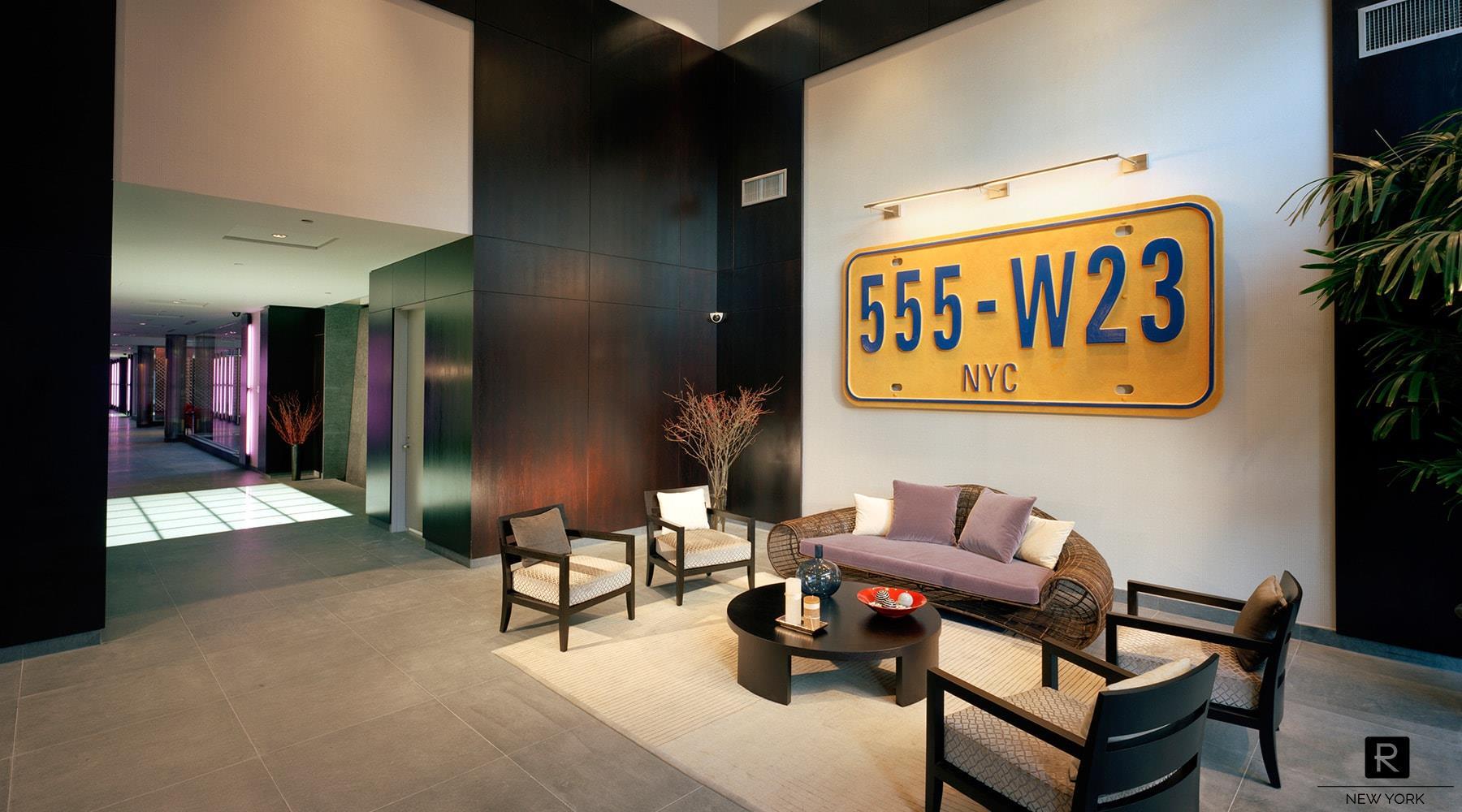 555 West 23rd Street Interior Photo