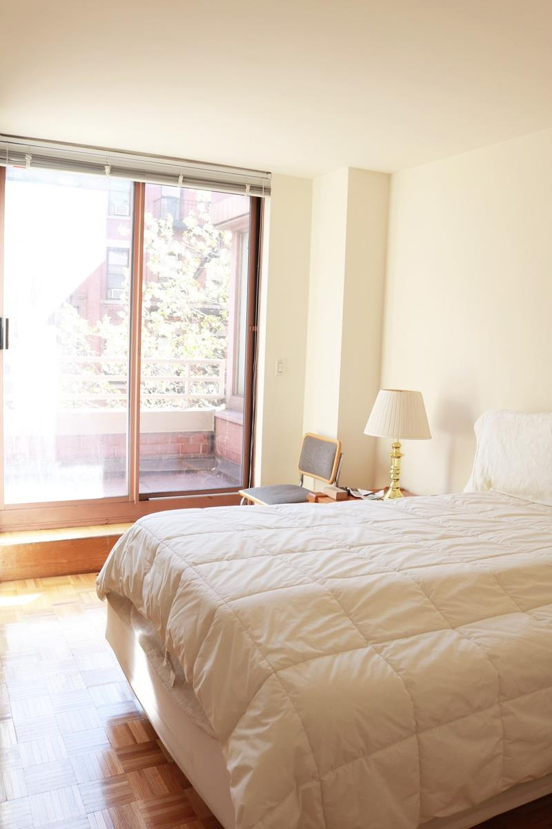 "NO FEE one bedroom apartment with Southern facing views. Perfectly located in the heart of the city. The building is rich with amenities including: Luxury Doorman/Concierge, Roof Decks, Lounge, Garden, and exclusive resident's rate at TMPL Gym. Owner does not allow pets and board approval required.Your new home comes with a beautiful terrace, accessible through the master bedroom and boasts a south-facing tree-lined view. For all your cooking needs, your kitchen comes with a dishwasher and plenty of storage. Your living room space is very open and conducive to a variety of furniture layouts.World Wide Plaza is a Full Service Condo, offering fully-equipped laundry rooms on each floor, roof decks with beautiful open views, a ""Resident's only"" courtyard, valet service, resident's lounge, conference room and more...Ideally located in the heart of vibrant Hell's Kitchen and the Midtown Financial District as well as close to Central Park, the Hudson River Park, Rockefeller Center, St. Patrick's Cathedral, the area's numerous restaurants, museums and points of interest. The garage on the premises is available to residents for a nominal fee. Close to the C, E, 1, Q, N and R subway lines and cross-town buses."