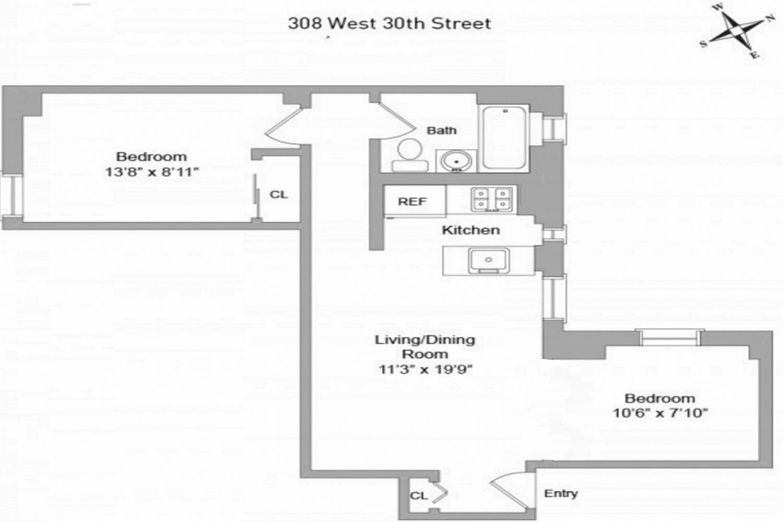 308 West 30th Street Interior Photo