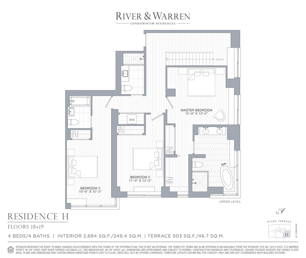 22 river terrace 1819h battery park city new york for 22 river terrace condo conversion