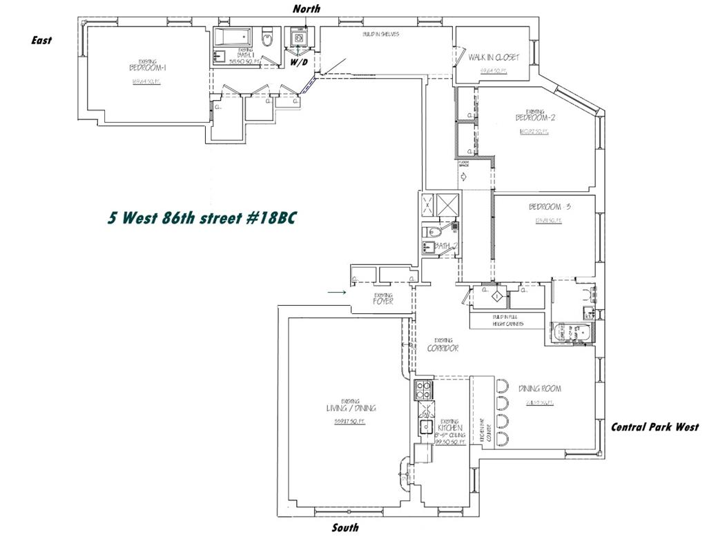 5 West 86th Street, 18-BC Upper West Side New York NY