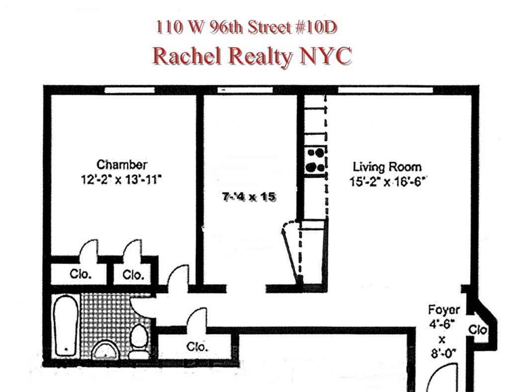 110 West 96th Street Upper West Side New York NY
