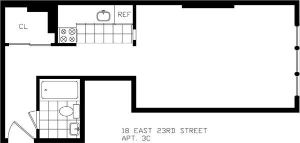 18 East 23rd ST.
