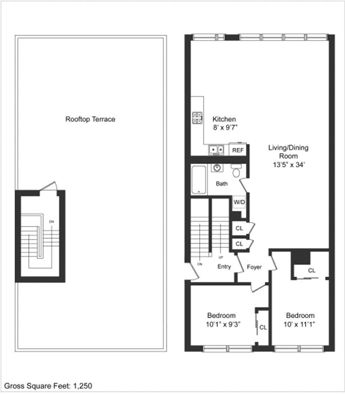 Single Family Home for Rent at 74 North 8th Street Brooklyn, New York 11249 United States