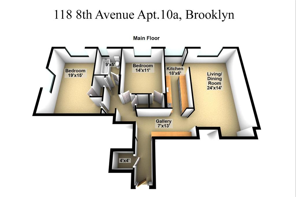 Single Family Home for Sale at 118 8th Avenue 118 8th Avenue Brooklyn, New York 11215 United States