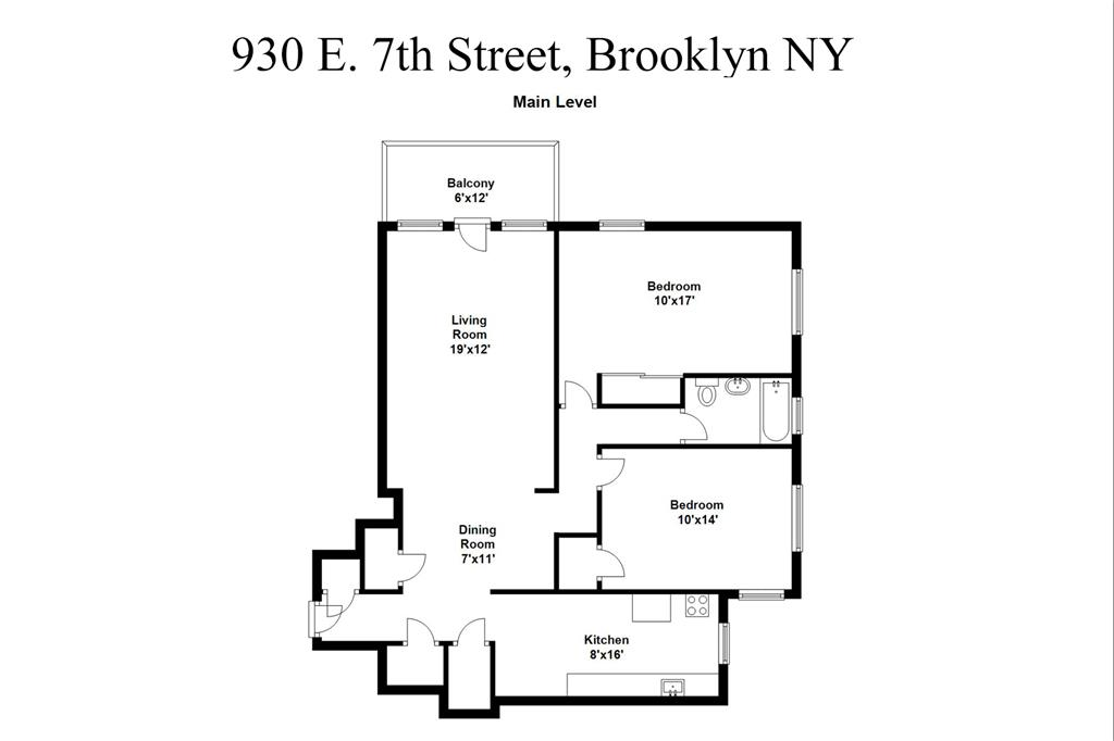 Cooperativa por un Venta en 930 East 7th street Brooklyn, Nueva York 11230 Estados Unidos