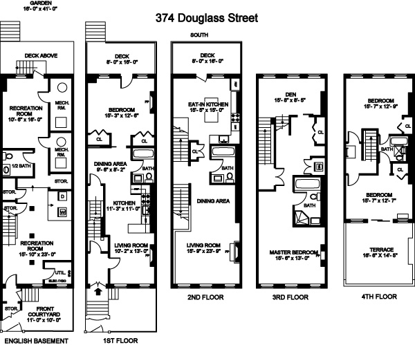 Additional photo for property listing at 374 Douglass Street  布鲁克林, 纽约州 11217 美国
