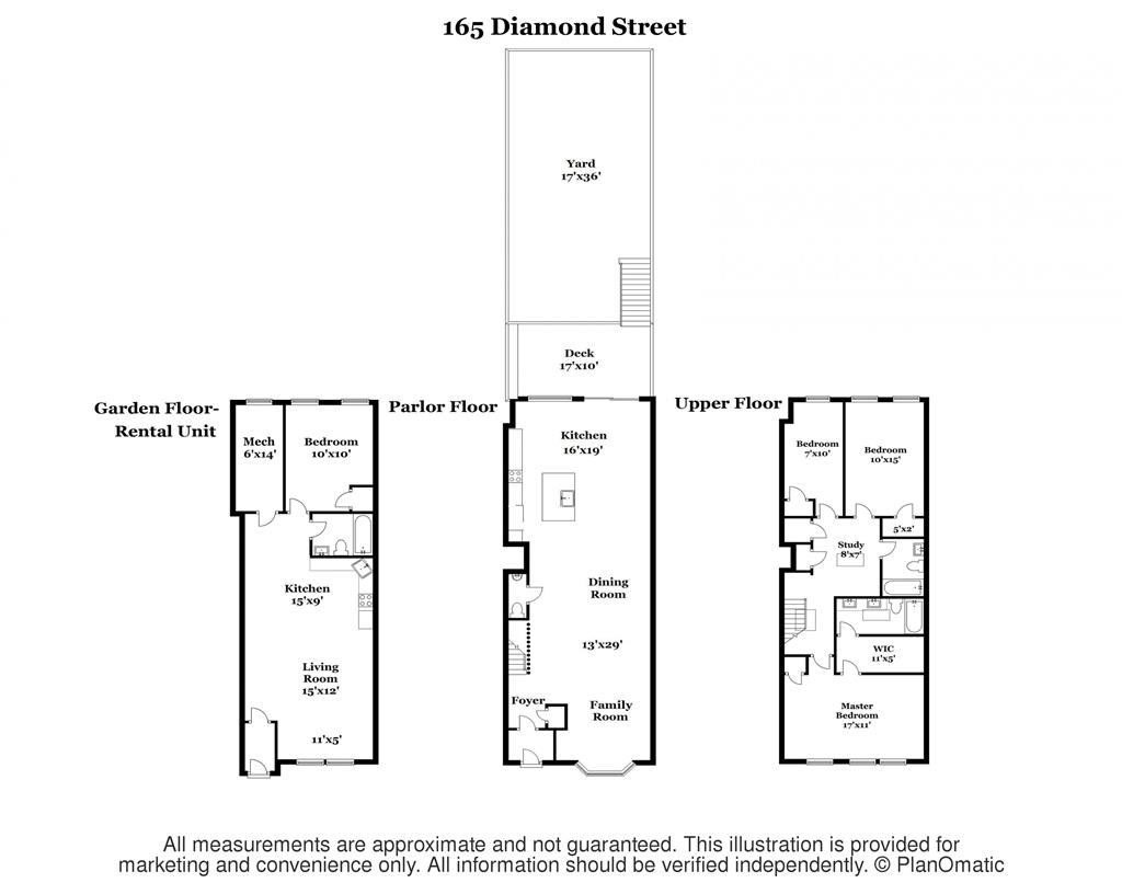 Multi-Family Home for Sale at 165 Diamond Street 165 Diamond Street Brooklyn, New York 11222 United States