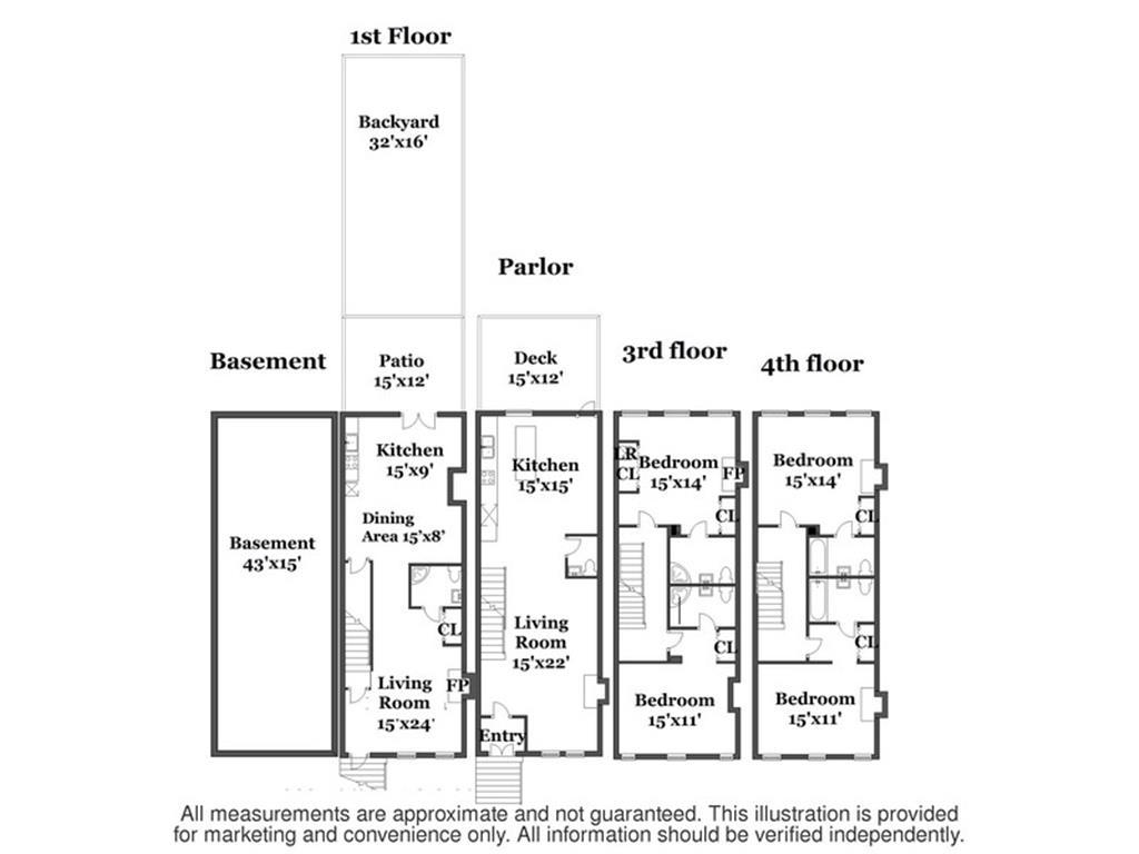Casa Multifamiliar por un Venta en 321 4th Street 321 4th Street Brooklyn, Nueva York 11215 Estados Unidos