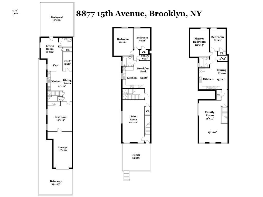 Multi-Family Home for Sale at 8877 15th Avenue 8877 15th Avenue Brooklyn, New York 11228 United States
