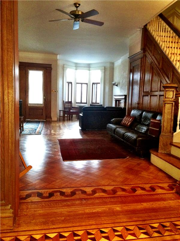 Single Family Home for Rent at Stunning Park Block Park Slope Furnished Townhouse Brooklyn, New York 11215 United States