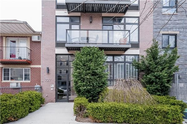 Single Family Home for Sale at 727 Prospect Place Apt. 2B Brooklyn, New York 11216 United States