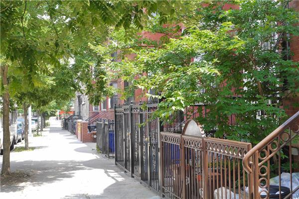 Single Family Home for Rent at Renovated 3 bedroom duplex plus huge private garden Brooklyn, New York 11233 United States