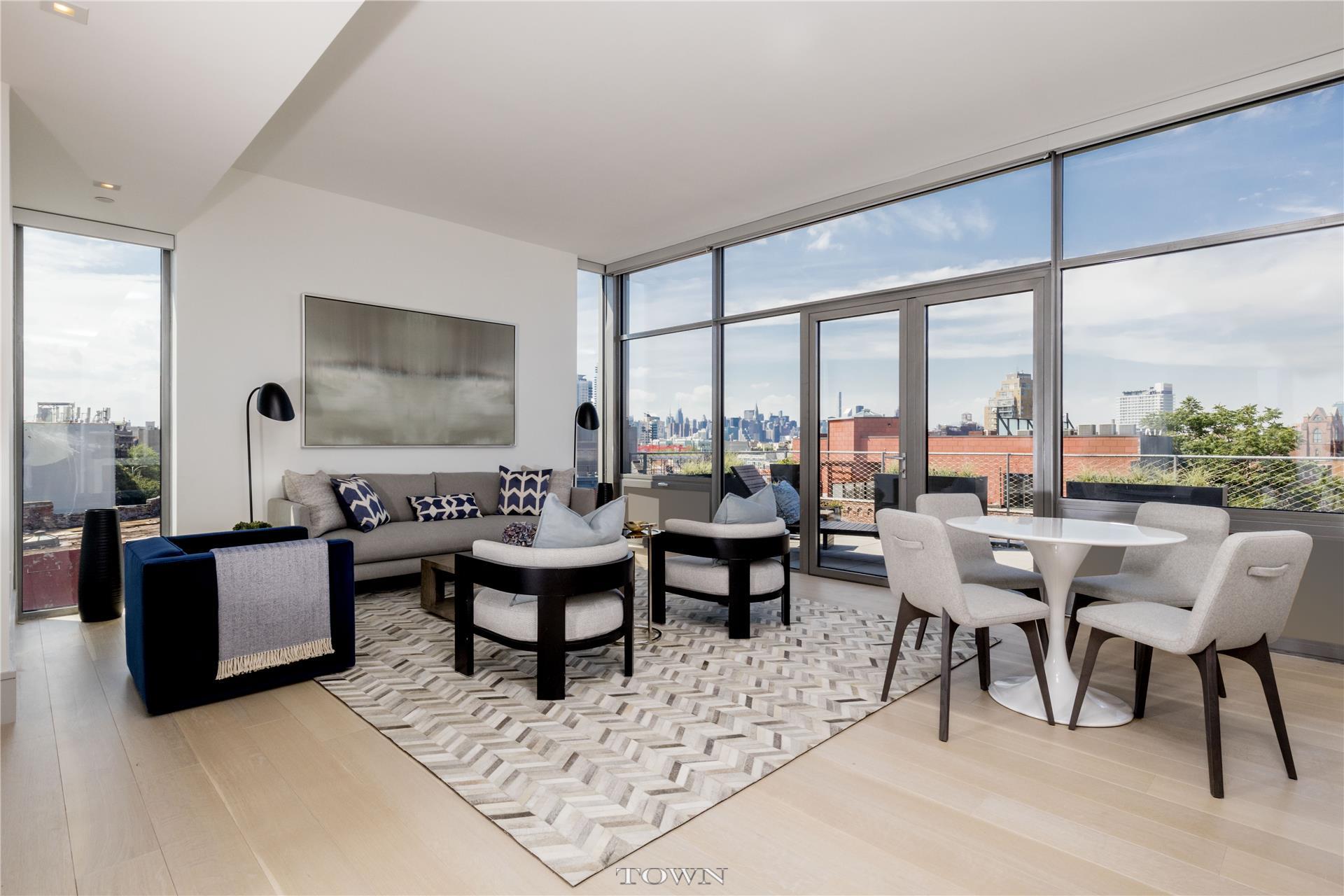 Condominium for Sale at 280 Metropolitan Avenue, #ph-D 280 Metropolitan Avenue Brooklyn, New York 11211 United States