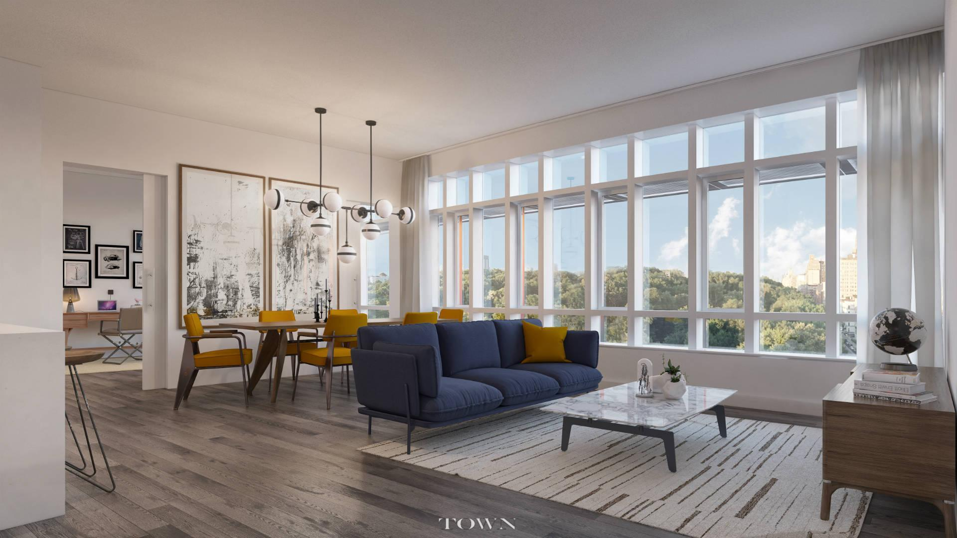 Condominium for Sale at 285 West 110th Street, #6-F 285 West 110th Street New York, New York 10026 United States