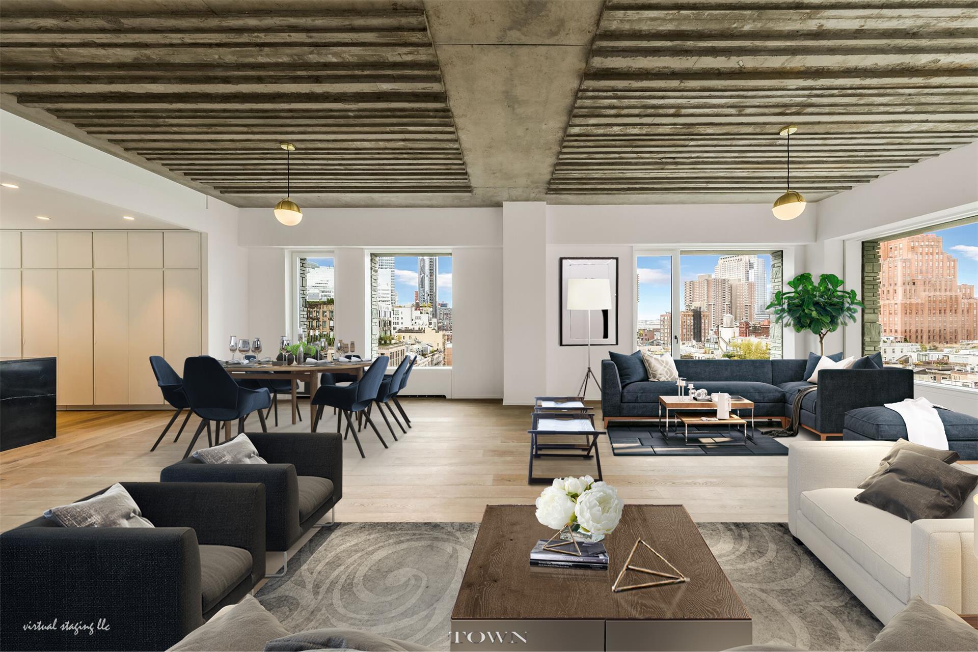 Condominium for Rent at 12 Warren, 12 Warren Street, #ph-A 12 Warren Street New York, New York 10013 United States