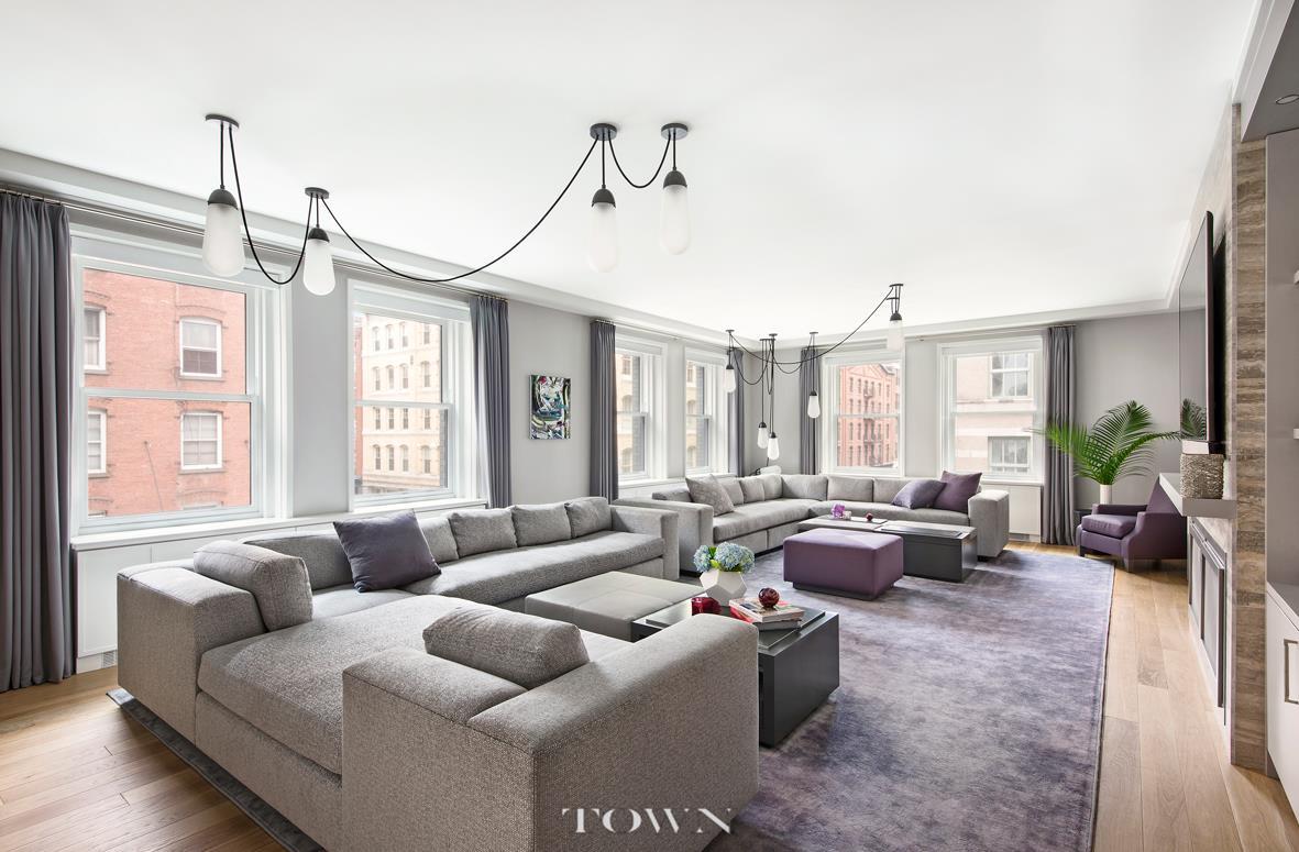 Condominio por un Alquiler en The Sterling Mason, 71 Laight Street, #3-D 71 Laight Street New York, Nueva York 10013 Estados Unidos
