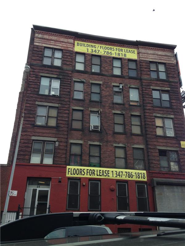 Commercial for Rent at 84-86 Withers Street 84 Withers Street Brooklyn, New York 11211 United States