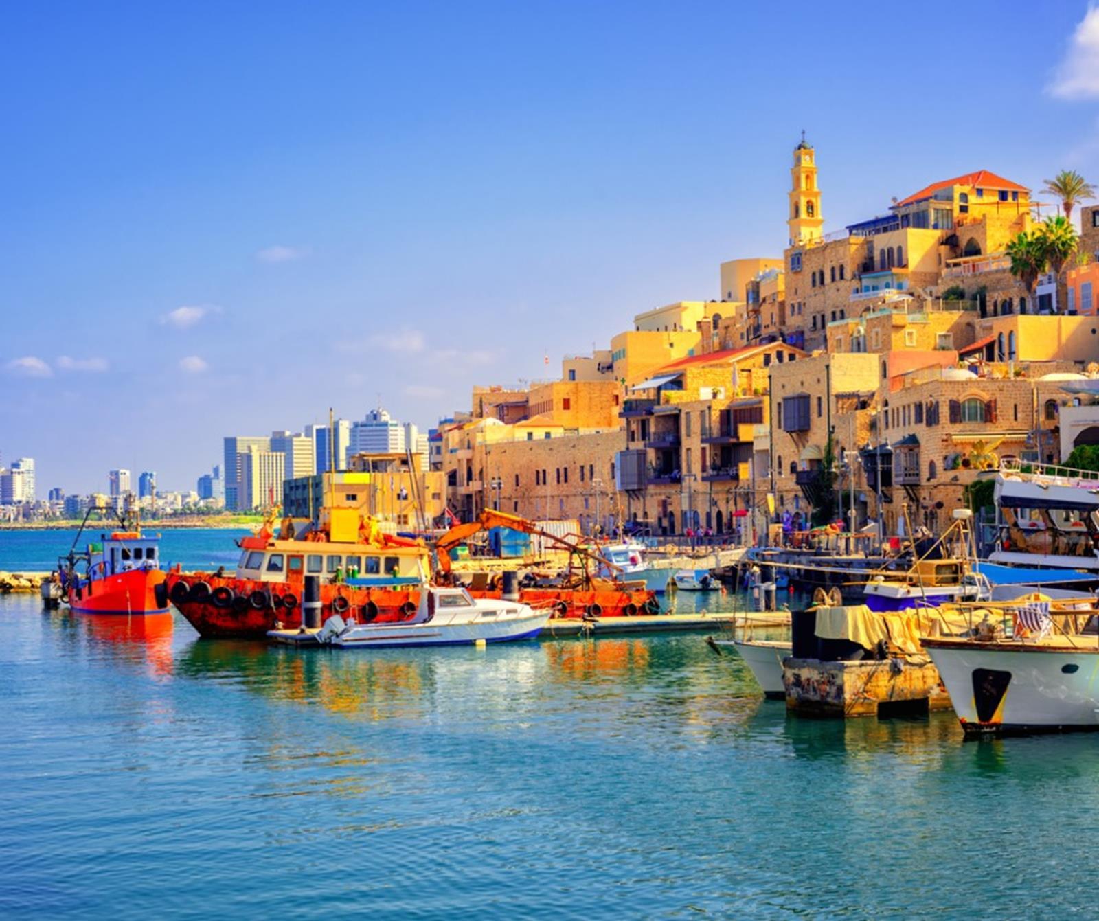 Jaffa Port Out of NYC Tel Aviv Jaffa Port