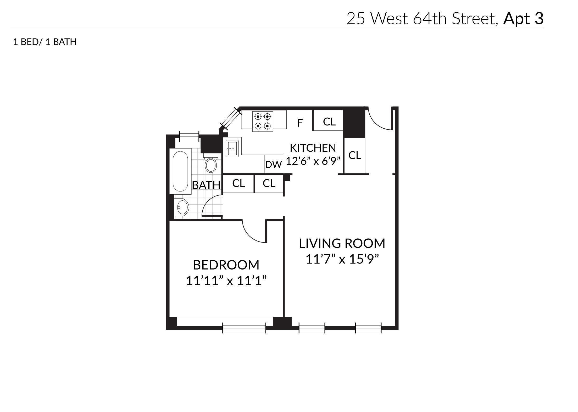 25 West 64th Street 3-A Lincoln Square New York NY 10023