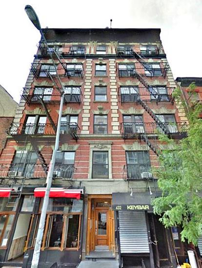 432-434 East 13th Street E. Greenwich Village New York NY 10009