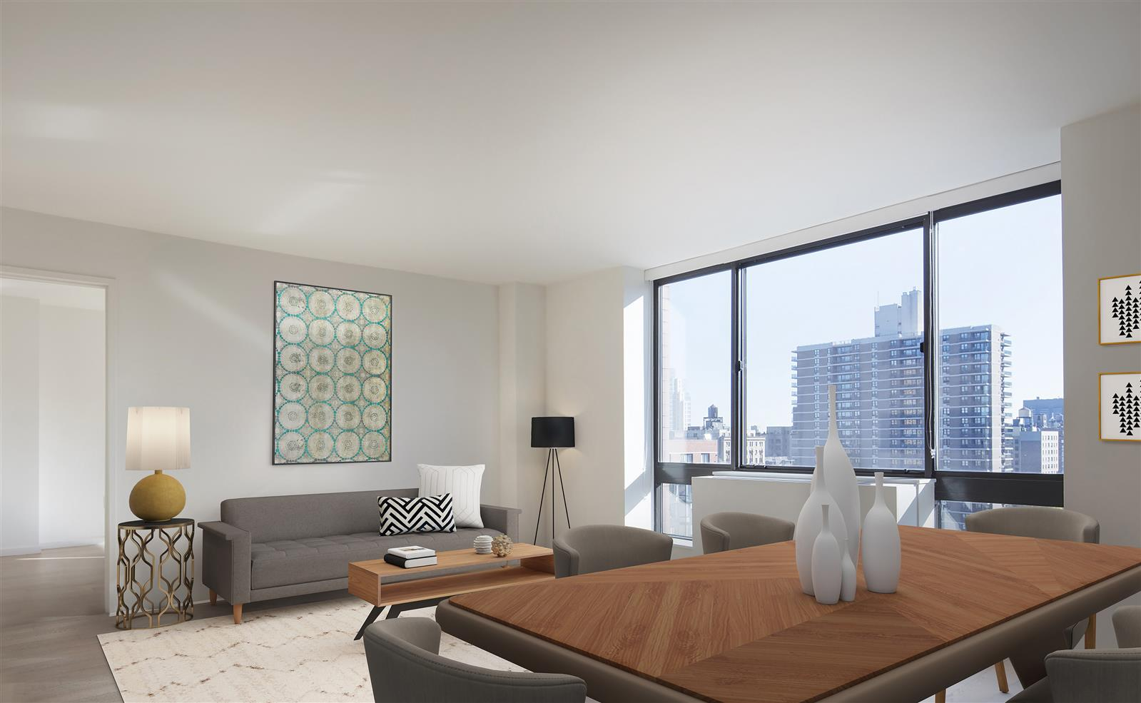 Beautiful 2 Bed with Open City Views
